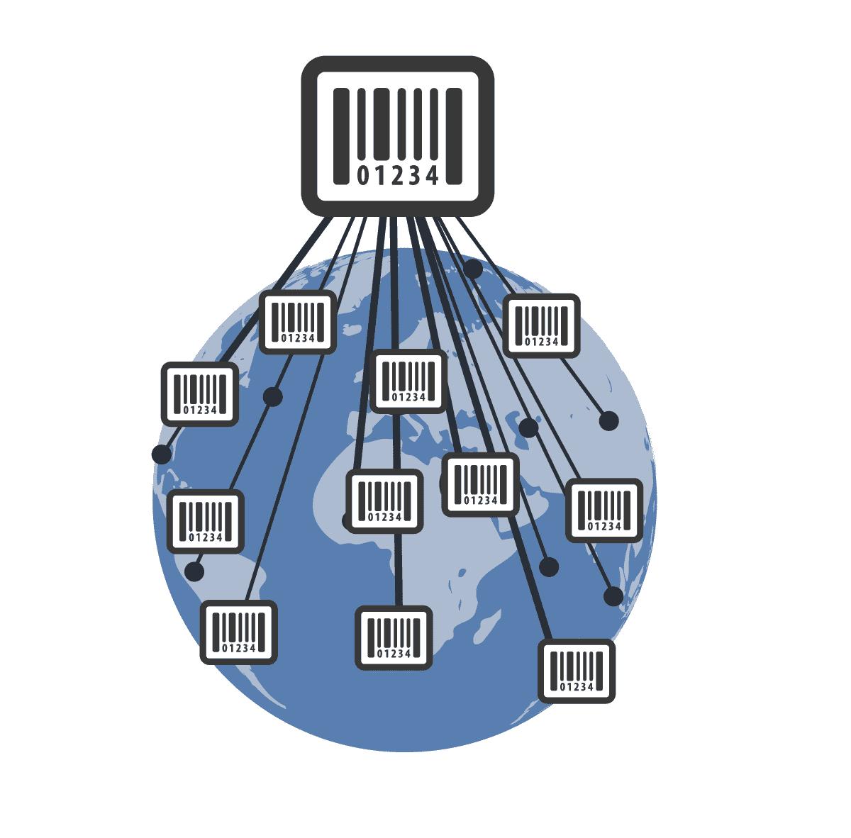 Barcode distribution