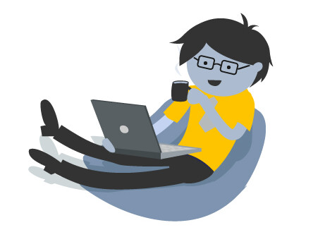 WATS user relaxing